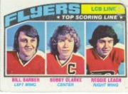 1976-77 Topps #215 LCB Line/Reggie Leach/Bobby Clarke/Bill Barber front image