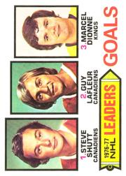 1977-78 O-Pee-Chee #1 Goals Leaders/Steve Shutt/Guy Lafleur/Marcel Dionne