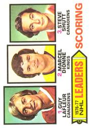 1977-78 O-Pee-Chee #3 Scoring Leaders/Guy Lafleur/Marcel Dionne/Steve Shutt