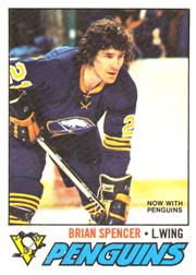 1977-78 O-Pee-Chee #9 Brian Spencer