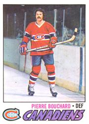 1977-78 O-Pee-Chee #20 Pierre Bouchard