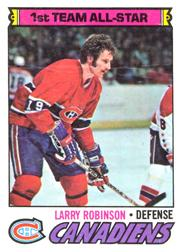1977-78 O-Pee-Chee #30 Larry Robinson AS1