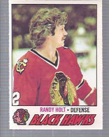1977-78 O-Pee-Chee #34 Randy Holt RC