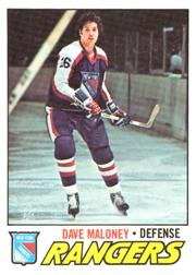 1977-78 O-Pee-Chee #41 Dave Maloney