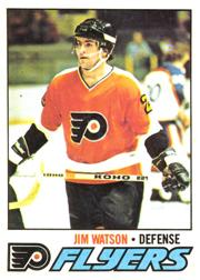 1977-78 O-Pee-Chee #43 Jimmy Watson