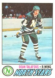 1977-78 O-Pee-Chee #49 Dean Talafous