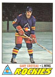 1977-78 O-Pee-Chee #52 Gary Croteau