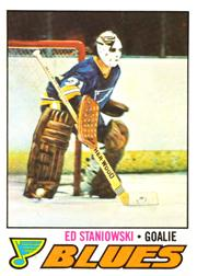 1977-78 O-Pee-Chee #54 Ed Staniowski