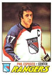1977-78 O-Pee-Chee #55 Phil Esposito UER/(Goal total reads 78{should be 55)
