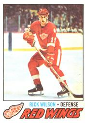 1977-78 O-Pee-Chee #57 Rick Wilson