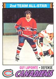 1977-78 O-Pee-Chee #60 Guy Lapointe AS2