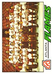 1977-78 O-Pee-Chee #71 Flames Team