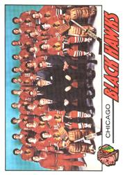 1977-78 O-Pee-Chee #74 Blackhawks Team