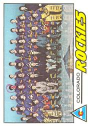 1977-78 O-Pee-Chee #76 Rockies Team