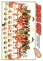 1977-78 O-Pee-Chee #77 Red Wings Team