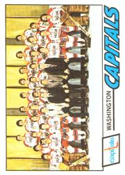 1977-78 O-Pee-Chee #88 Capitals Team