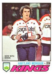 1977-78 O-Pee-Chee #96 Hartland Monahan