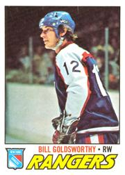 1977-78 O-Pee-Chee #99 Bill Goldsworthy