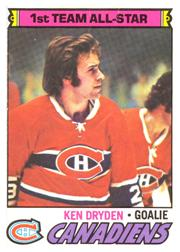 1977-78 O-Pee-Chee #100 Ken Dryden AS1