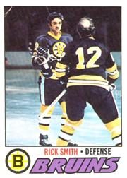 1977-78 O-Pee-Chee #104 Rick Smith
