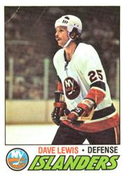 1977-78 O-Pee-Chee #116 Dave Lewis