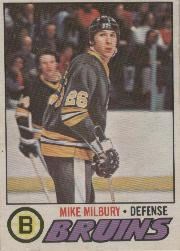 1977-78 O-Pee-Chee #134 Mike Milbury RC