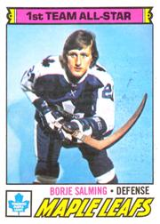 1977-78 O-Pee-Chee #140 Borje Salming AS1