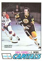 1977-78 O-Pee-Chee #143 Dave Forbes