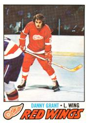 1977-78 O-Pee-Chee #147 Danny Grant