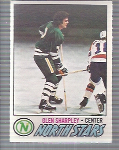 1977-78 O-Pee-Chee #158 Glen Sharpley RC