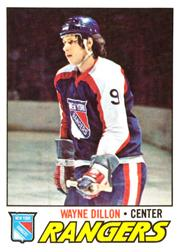 1977-78 O-Pee-Chee #166 Wayne Dillon