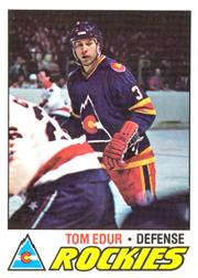 1977-78 O-Pee-Chee #169 Tom Edur RC