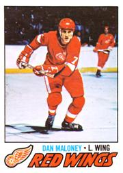 1977-78 O-Pee-Chee #172 Dan Maloney