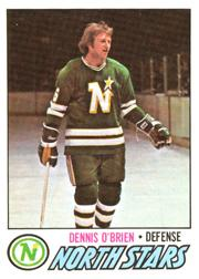 1977-78 O-Pee-Chee #173 Dennis O'Brien