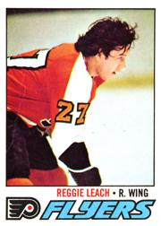1977-78 O-Pee-Chee #185 Reggie Leach