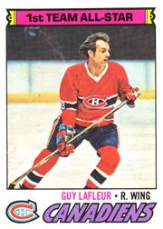 1977-78 O-Pee-Chee #200 Guy Lafleur AS1