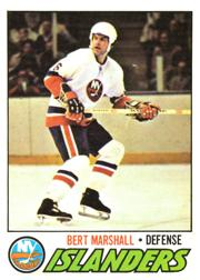1977-78 O-Pee-Chee #206 Bert Marshall