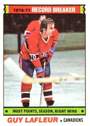 1977-78 O-Pee-Chee #214 Guy Lafleur RB