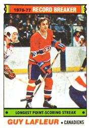 1977-78 O-Pee-Chee #216 Guy Lafleur RB