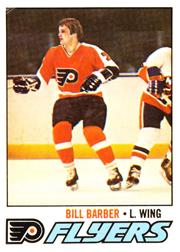 1977-78 O-Pee-Chee #227 Bill Barber