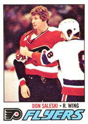 1977-78 O-Pee-Chee #233 Don Saleski