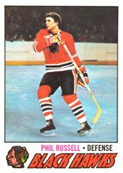 1977-78 O-Pee-Chee #235 Phil Russell