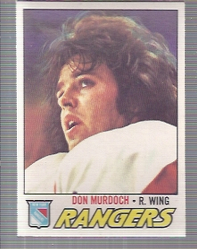 1977-78 O-Pee-Chee #244 Don Murdoch RC