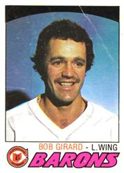 1977-78 O-Pee-Chee #255 Bob Girard