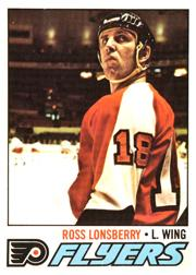 1977-78 O-Pee-Chee #257 Ross Lonsberry