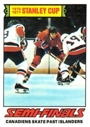 1977-78 O-Pee-Chee #262 Cup Semi-Finals