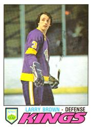 1977-78 O-Pee-Chee #289 Larry Brown