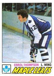 1977-78 O-Pee-Chee #293 Errol Thompson