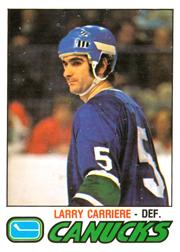 1977-78 O-Pee-Chee #304 Larry Carriere