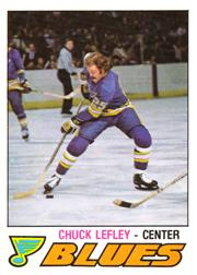 1977-78 O-Pee-Chee #340 Chuck Lefley